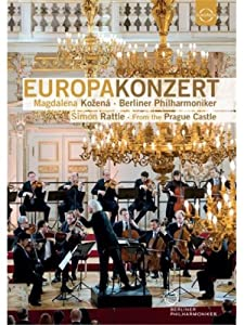 Europakonzert 2013 [From Prague Castle] [Simon Rattle, Magdalena Kozena] [Euroarts: 2059428] [DVD] [NTSC]
