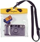 "DRY PAK DP-65C 6"" x 5"" Yellow/Clear Camera Case"