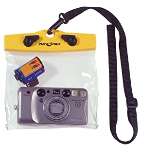 Kwik Tek DRY PAK DP-65C Camera Case, Clear