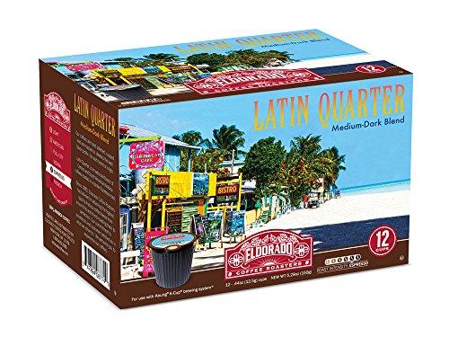 Eldorado Coffee Roasters Latin Quarter Single Cup Capsules - 96 Capsules