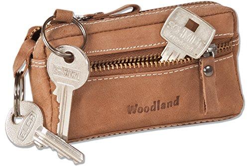 woodland-borsa-in-pelle-chiave-con-2-portachiavi-in-morbido-pelle-di-bufalo-trattata-a-cognac