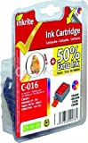 Inkrite Inkrite canon I70 I80 pixma IP90 IP90V MINI220 - BCI-15C BCI-16C colour chickCompatible Canon BCI-16C Colour Ink Cartridge BCI-16C - Consumable