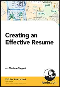 creating an effective resume mariann siegert