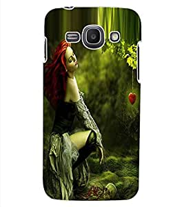 ColourCraft Girl Design Back Case Cover for SAMSUNG GALAXY ACE 3 3G S7270