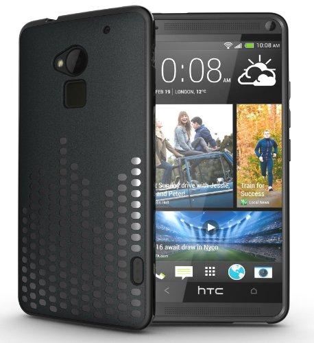 Tudia Ultra Slim Melody Tpu Bumper Protective Case For Htc One Max / Htc T6 (Black)