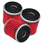 3-PACK Oil Filter YAMAHA 450 YFZ450 YFZ-450 LIMITED SPECIAL EDITION 2-BLACK FLAMES 2004-2009 2012-2013