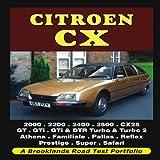 Citroen CX Road Test Portfolio (Brooklands Books Road Test Series) (Brooklands Portfolio) R. M. Clarke