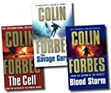 Colin Forbes Collection 3 Books Set (The Cell, Blood Storm, The Savage Gorge)