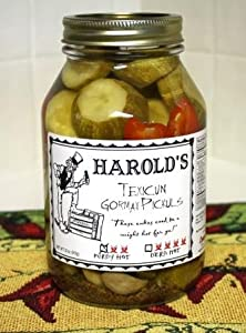Harolds Spicy 2x Habanero Dill Pickle 32oz Quart by Conscious Choice Foods