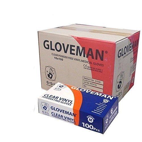 vinyl-gloves-powder-free-non-latex-and-clear-1-case-10-boxes-of-100-gloves-1000-gloves-total-size-me