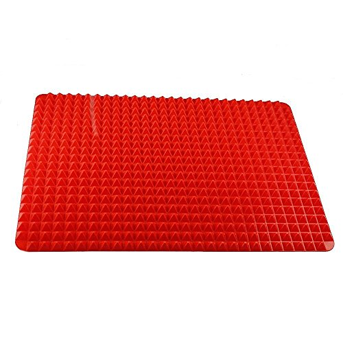 Vipe Non-stick Silicone Healthy Cooking Baking Mat Pyramid Shaped Roasting Mats Turkey Mats Thanksgiving Day 16in x 11in (Baking Filler compare prices)