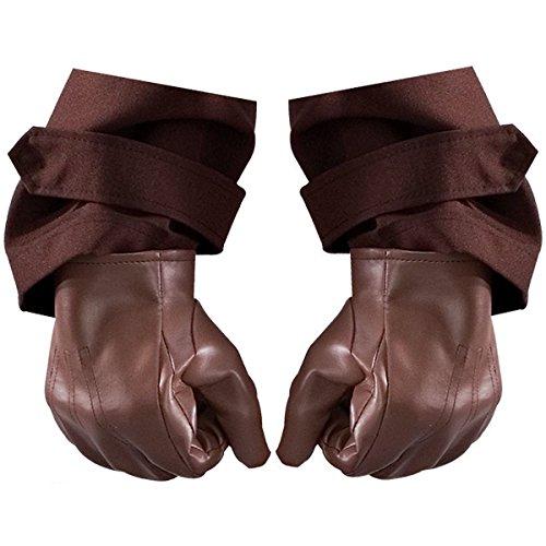 [GSG Rorschach Gloves Costume Accessory Adult Mens The Watchmen Halloween] (Rorschach Costume Halloween)