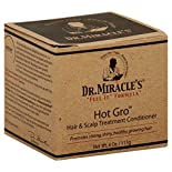 Dr Miracles Feel It Formula Hair & Scalp Treatment Conditioner, Hot Gro, 4 oz (113 g)
