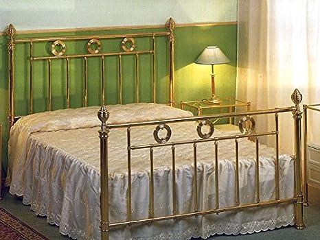 Lits et têtes de lit en laiton et fer forgé: modèle ALLIER.