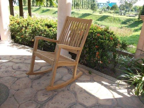 Wood Porch Rocker front-1022895