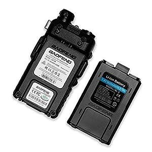 BaoFeng UV-5R 136-174/400-480 MHz Dual-Band DTMF CTCSS DCS FM Ham Two Way Radio