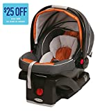 Graco-SnugRide-Click-Connect-35-Infant-Car-Seat-Tangerine