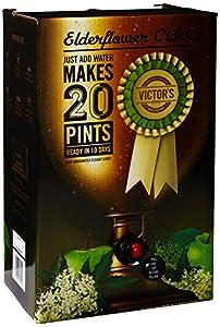 Victor's Drinks Elderflower Cider 20 Pint Kit