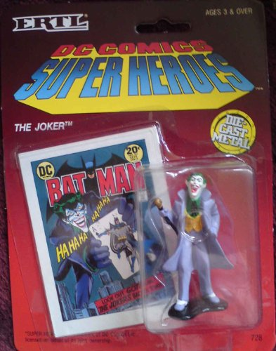 The Joker: DC Comics Super Heroes Die Cast Metal - 1