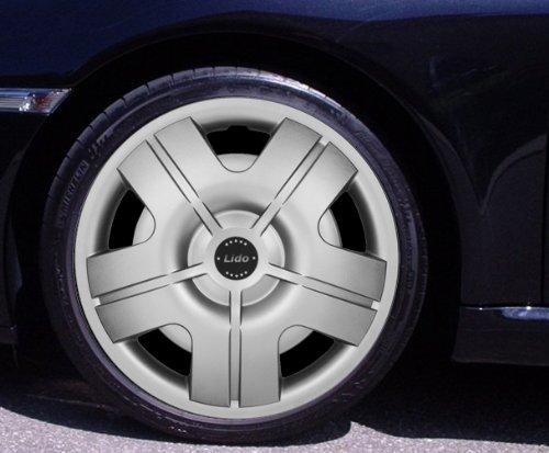 Radkappen LIDO silber 15 Zoll Fiat 500, Bravo, Brava, Doblo, Grande Punto, Evo, Idea, Linea