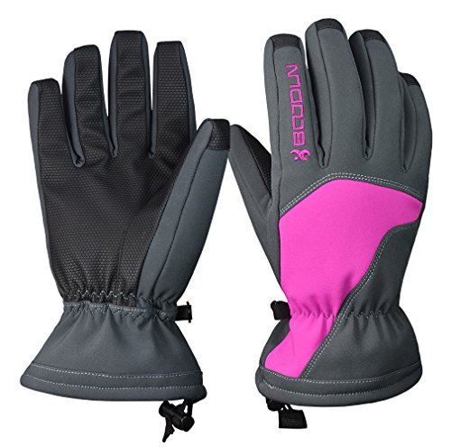 Winter Ski Gloves for Men and Women - Waterproof Snowboard Skiing Full Finger Warm Snow Gloves / Outdoor Windproof Snowproof Camping Hiking Climbing Cycling Athletic Gloves