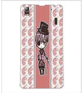 PrintDhaba Fantasy Girl D-5804 Back Case Cover for LENOVO A7000 PLUS (Multi-Coloured)