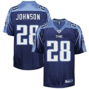 Reebok Tennessee Titans Chris Johnson Replica Alternate Jersey by Reebok