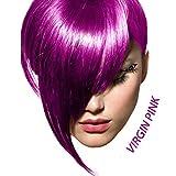 Arctic Fox Semi Permanent Hair Color Dye 4 Ounce (Virgin Pink)