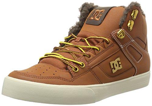 DC Herren Spartan WC Wnt Hohe Sneakers, Braun (Burnt Henna/White-Bhw), 44 EU