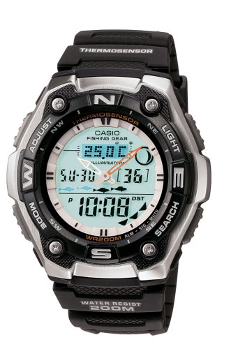 Casio Men's AQW101-1ACF Active Dial Multi-Task Gear Sport Watch