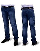 Rich bleu denim jean pour homme coupe regular fit pantalon clubwear hommes herrenmode wunschgröße pantalon de jean pour homme