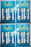 16 Oral-b Dual Clean Replacement Toothbrush Heads GENERIC NEUTRAL Braun Oral-b Compatible Electric Replacement Toothbrush Heads (4 Packs)