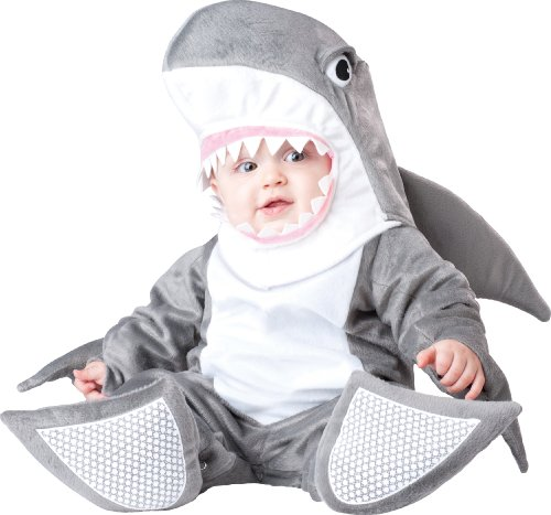 Incharacter Costumes, Llc Silly Shark, Grey/White, Small(6-12 Months) front-956364
