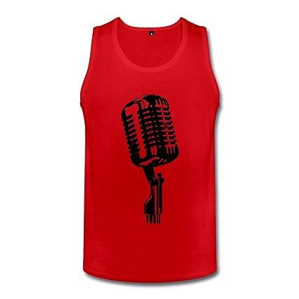 Microphone Geek Top For Mens