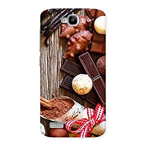 Delighted Chocolate Candies Multicolor Back Case Cover for Honor Holly