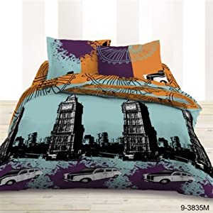 housse couette big ben londres deco londres. Black Bedroom Furniture Sets. Home Design Ideas