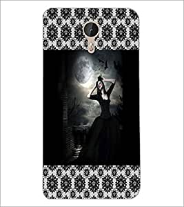 PrintDhaba Black Angel D-5077 Back Case Cover for LETV LE 1 PRO ULTRA (Multi-Coloured)