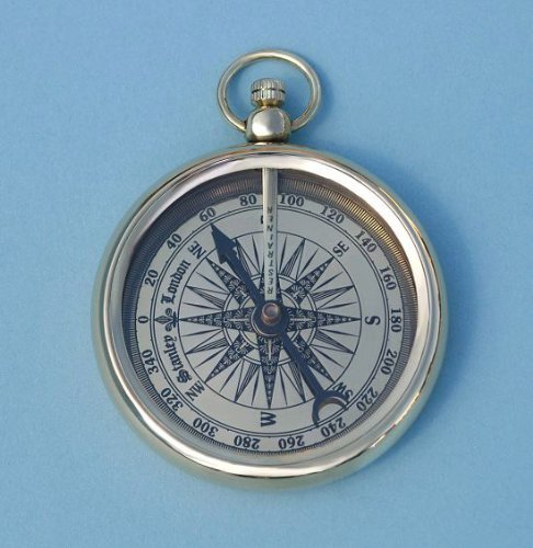 Limited Edition Open Faced Pocket Watch Style Compass