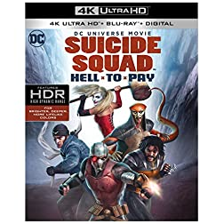 DCU: Suicide Squad: Hell To Pay [4K Ultra HD + Blu-ray]