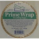 Prime Wrap 1 7/8-Inch x 55-Yard White Sheathing Tape, Item: PRTAPE 17855