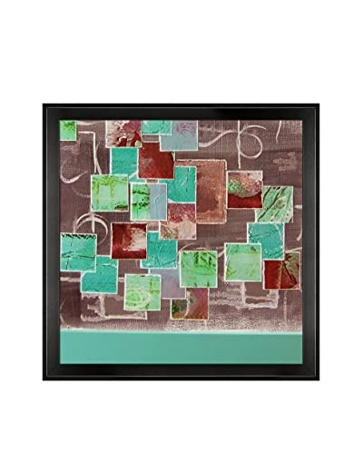 Lisa Carney Untitled 2 Framed Giclée On Canvas