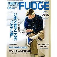 men's FUDGE 表紙画像