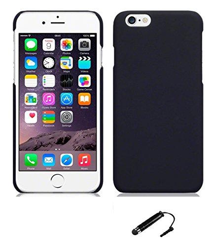 TCA Rubberized Finish Matte Hard Case Back Cover for Apple iPhone 6 4.7 + Mini Stylus