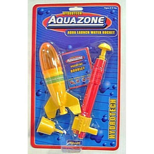 AQUA LAUNCH Water Powered SPACE ROCKET kids TOY NEW [Toy]
