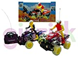 Ginzick Rc Remote Control Fun ATV with Lights and Sounds - Colors Vary