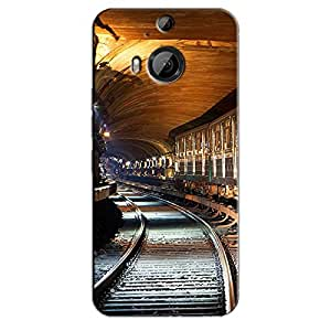 RAILWAY TRACKS BACK COVER FOR HTC ONE M9 PLUS