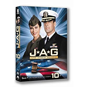 JAG saison 10 - coffret 5 DVD