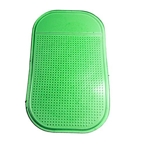 SODIAL(R) Anti-Rutsch-Pad KFZ Halterung Anti Rutsch Matte / Antirutschmatte Klebematte Gr¨¹n