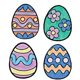 Color Your Own Easter Egg Magnets - Crafts For Kids & Color Your Own