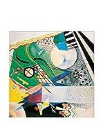 Artopweb Panel Decorativo Kandinsky Mod. 236 Verde Aperto 1923 Multicolor